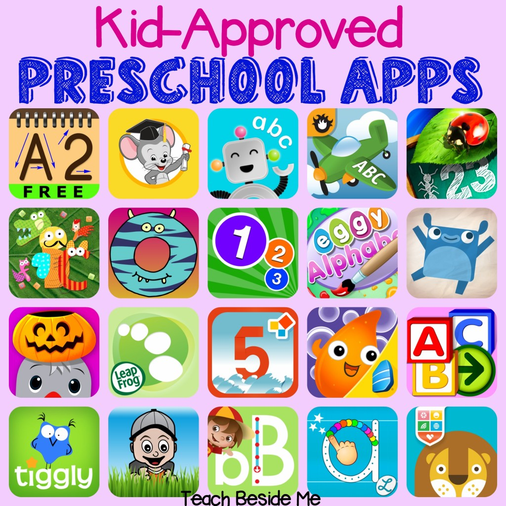 Kid-Approved Preschool Apps