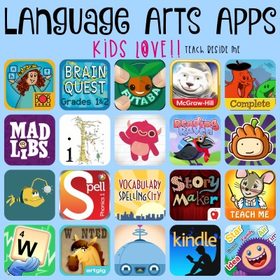 Language Arts Apps Kids Love