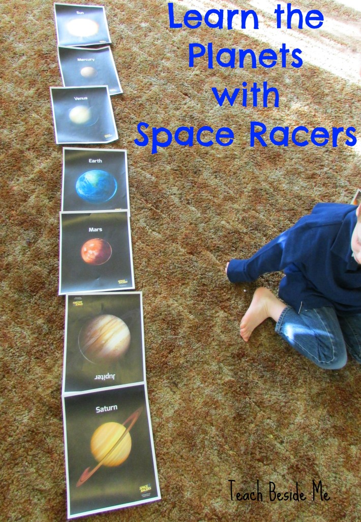 Learn the Planets with Space Racers