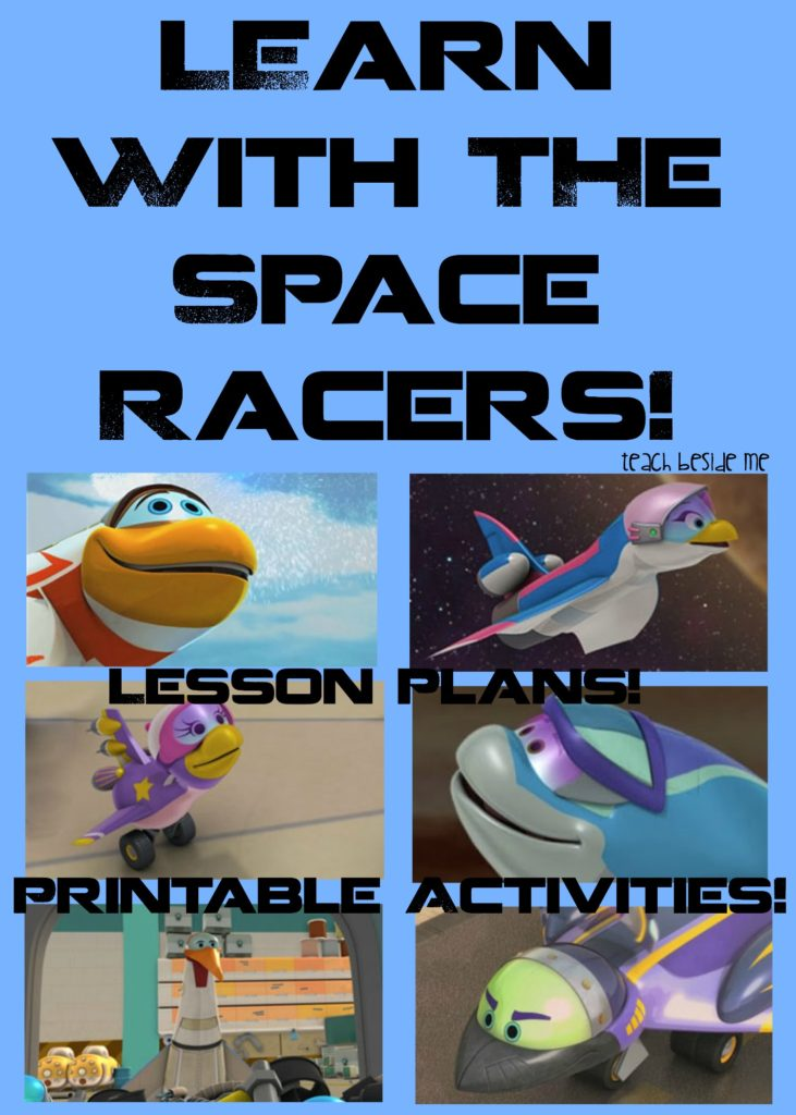 Learn with the Space Racers