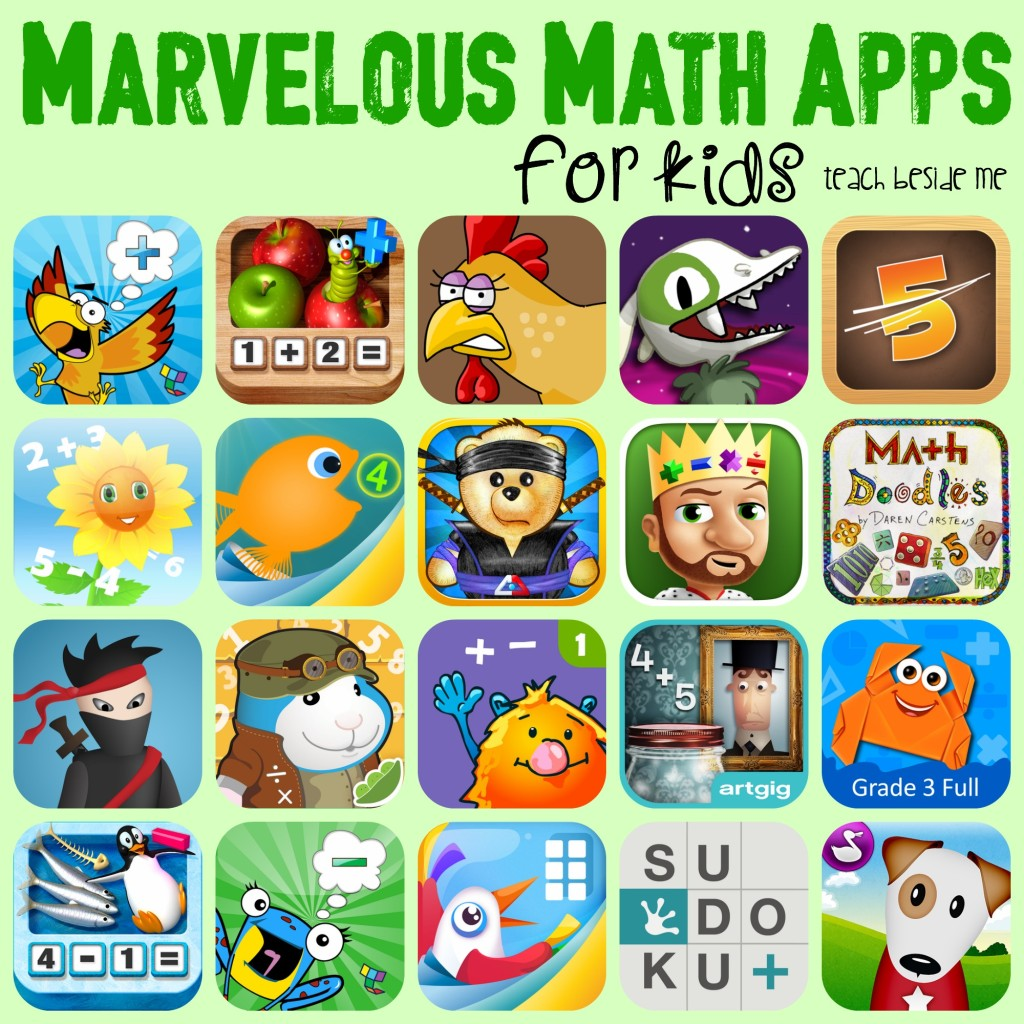 Marvelous Math Apps for Kids