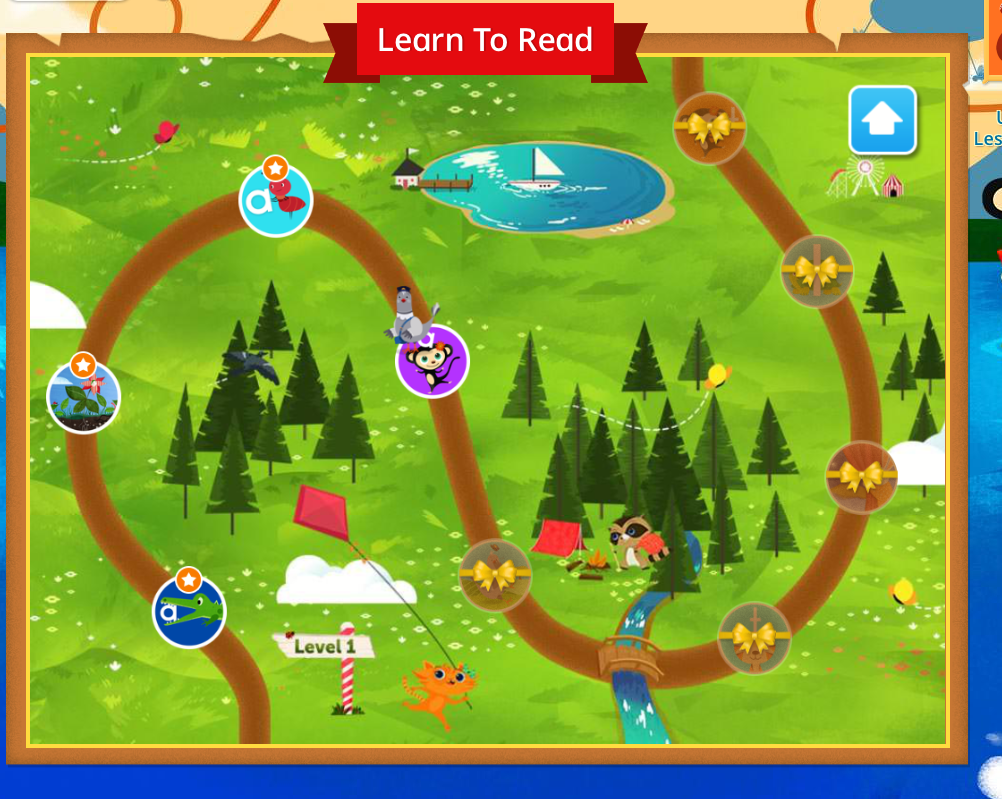 Learn With Homer Lesson Path