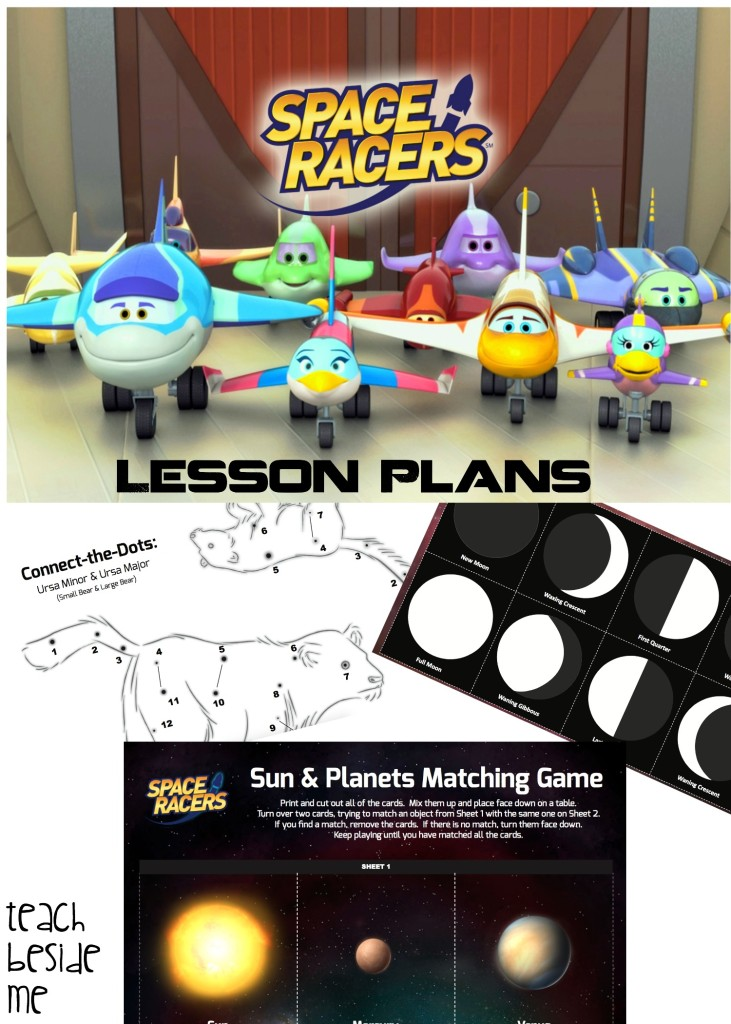 Space Racers Lesson Plans