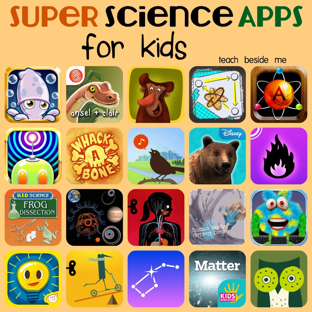 Super Science Apps for Kids