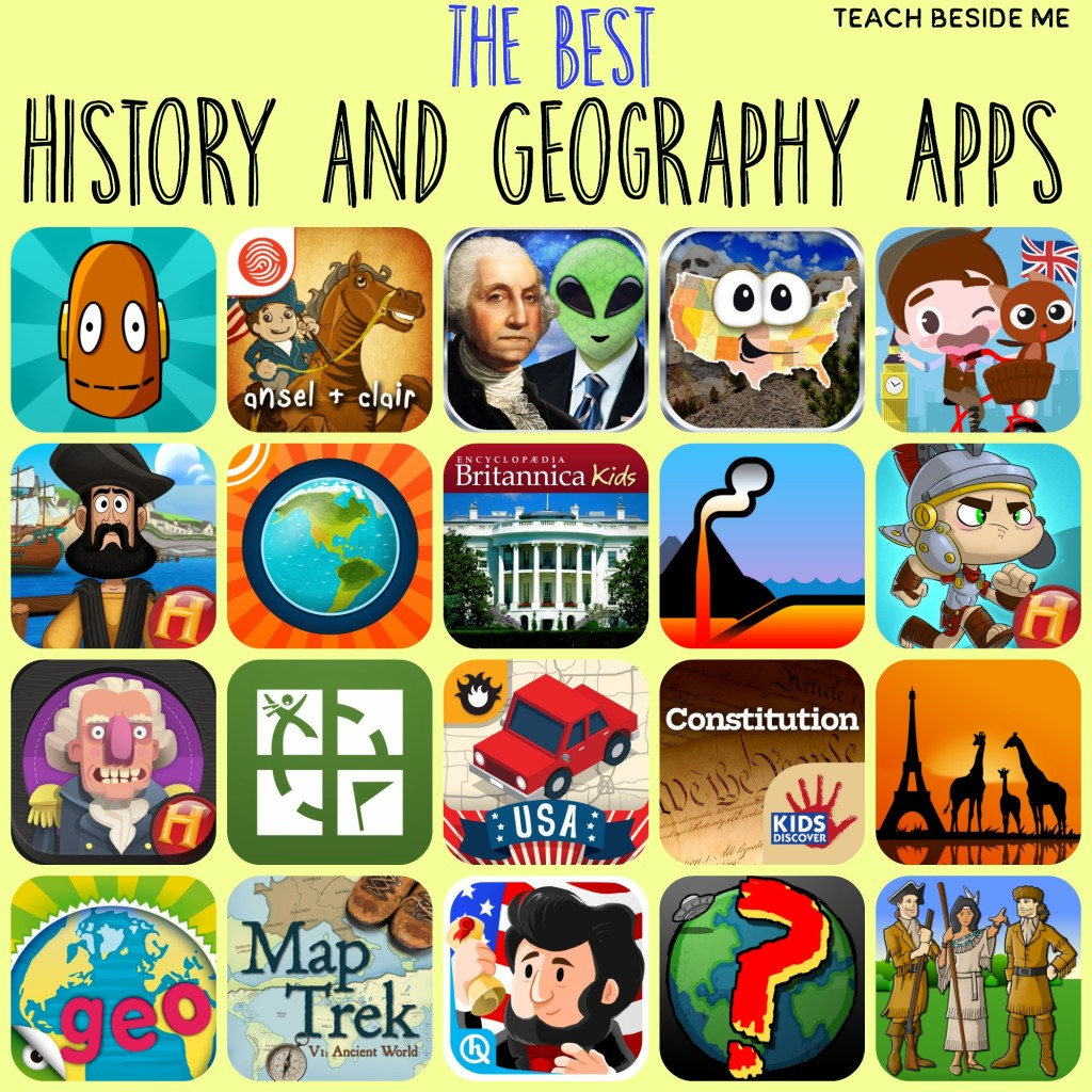 The Best History & Geography Apps