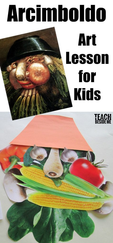 arcimboldo art lesson for kids