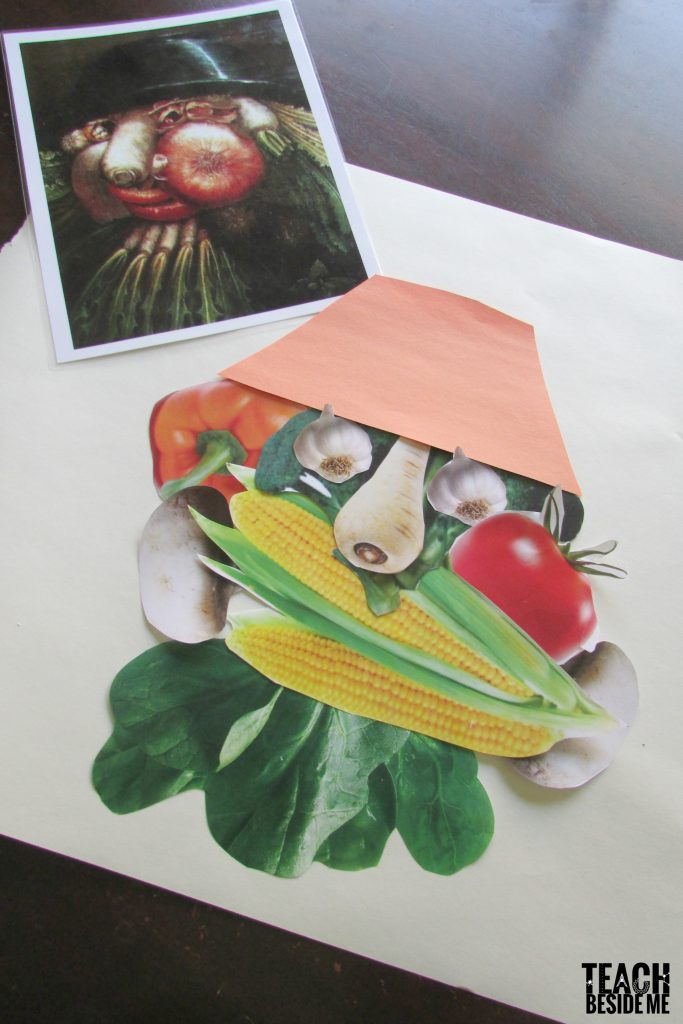 arcimboldo optical illusion art