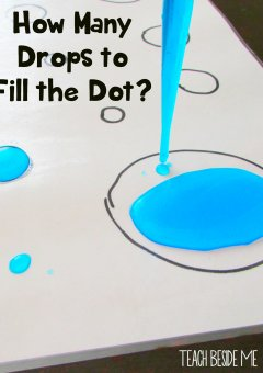 Preschool Counting: How Many Drops to Fill the Dot?