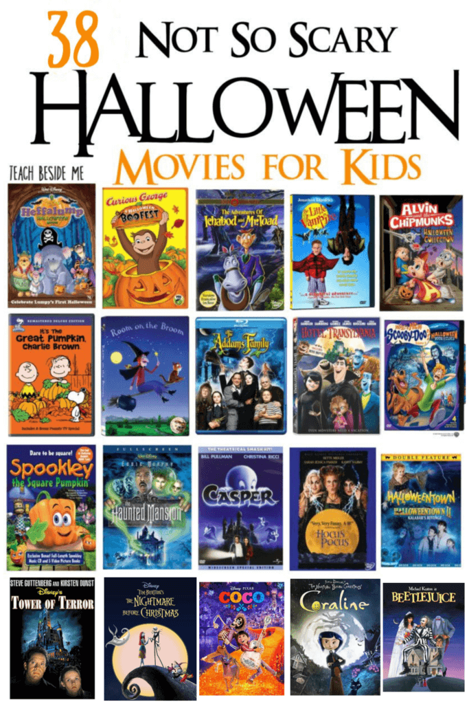 not so scary halloween movies for kids