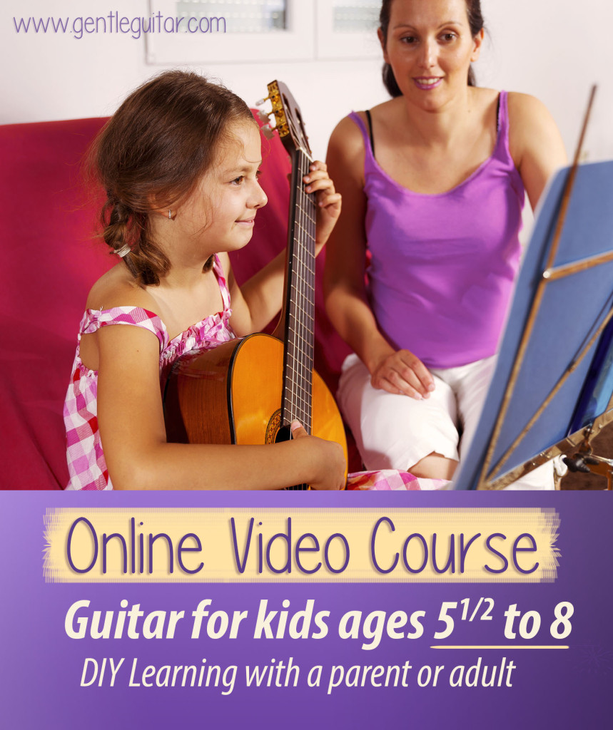 Gentle Guitar- Lessons for kids
