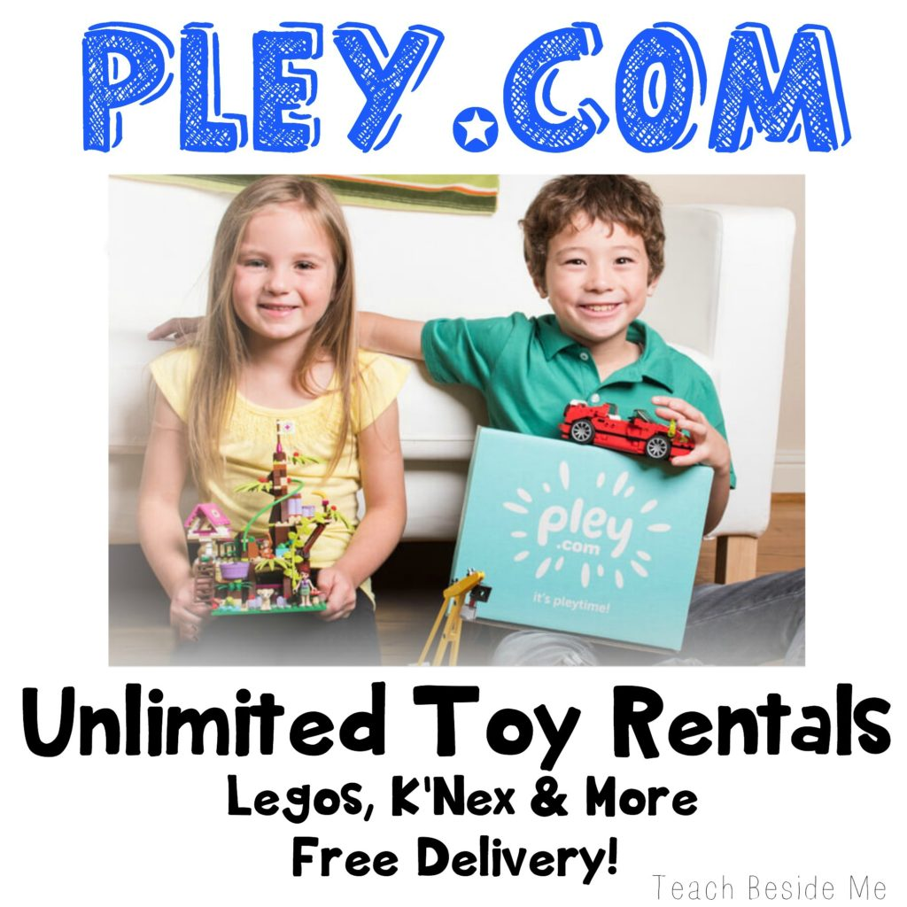 Pley.com toy rentals Legos k'nex and more