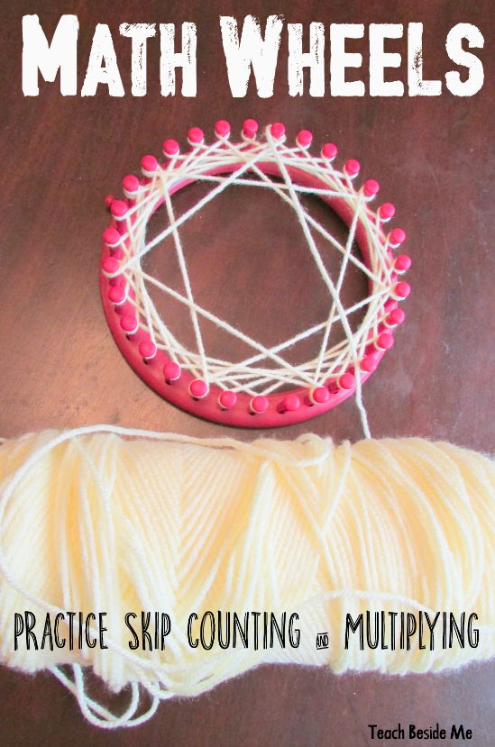 Math Wheels from Knitting Looms