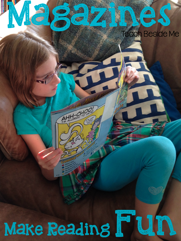 Make Reading Fun with Magazines