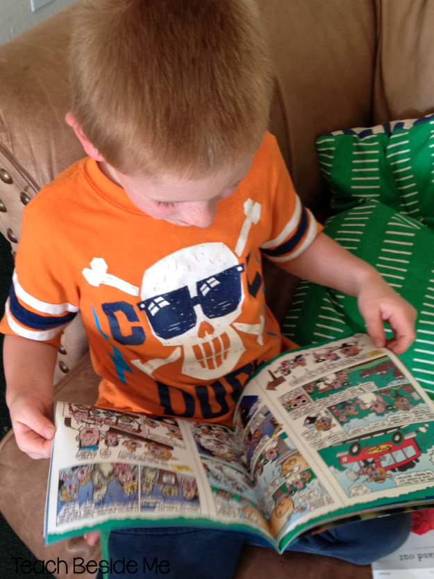 magazines for reluctant readers