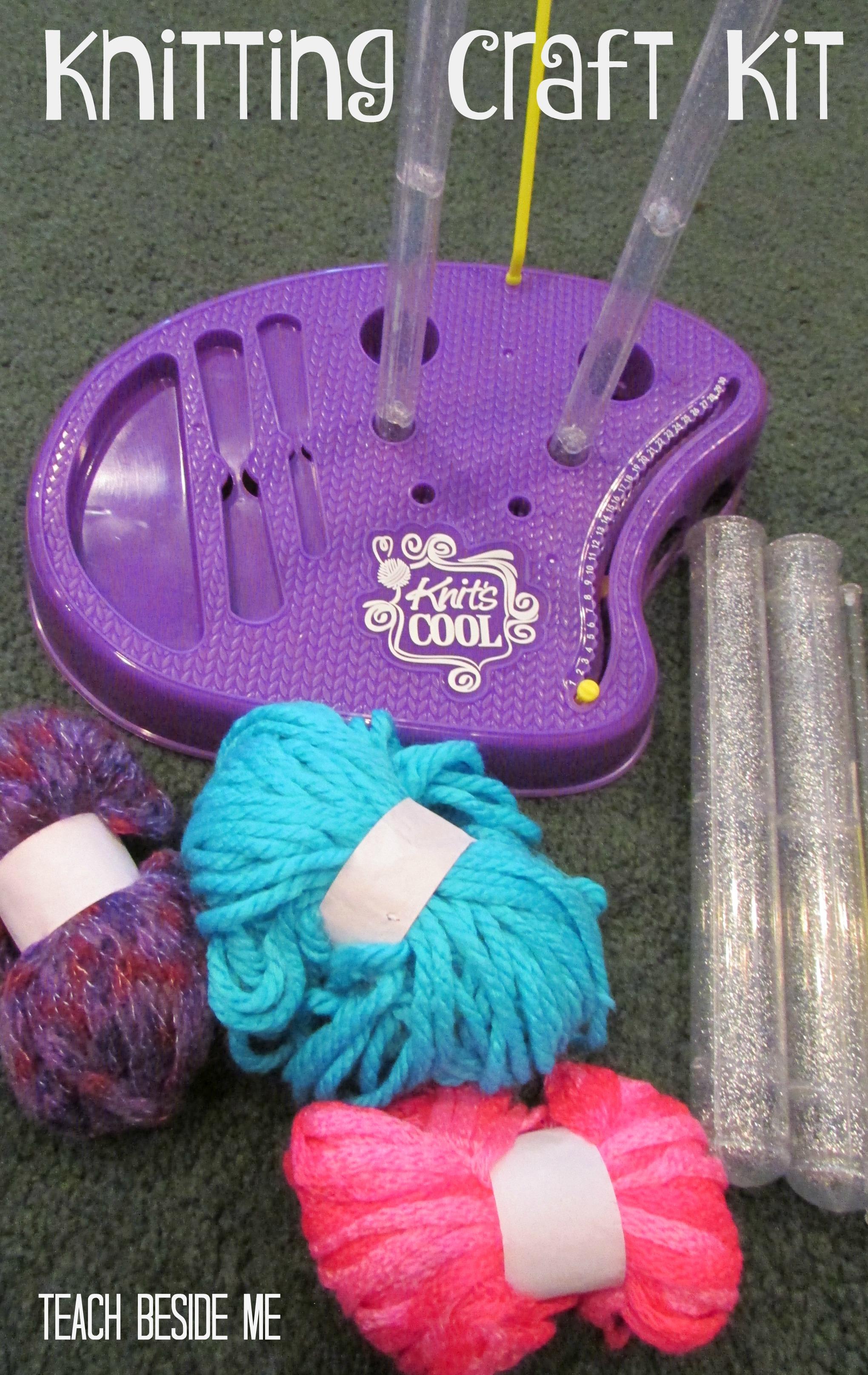 Teach kids to knit