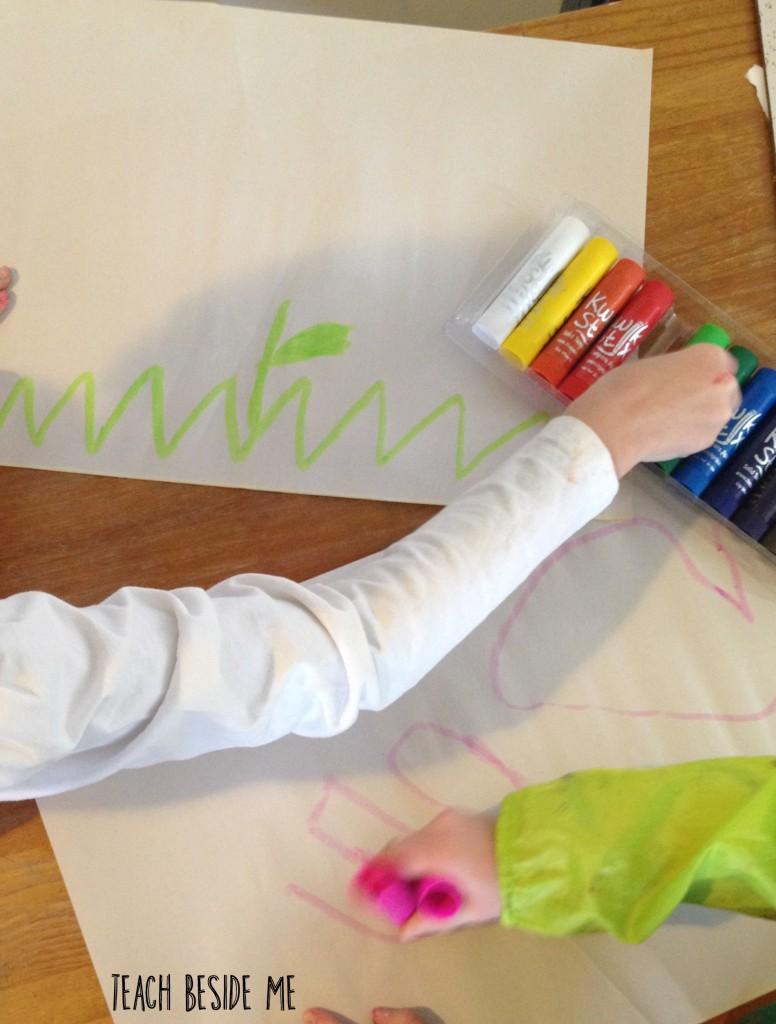 kwik sticks- mess-free paint sticks