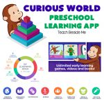 Curious World Learning App for Kids