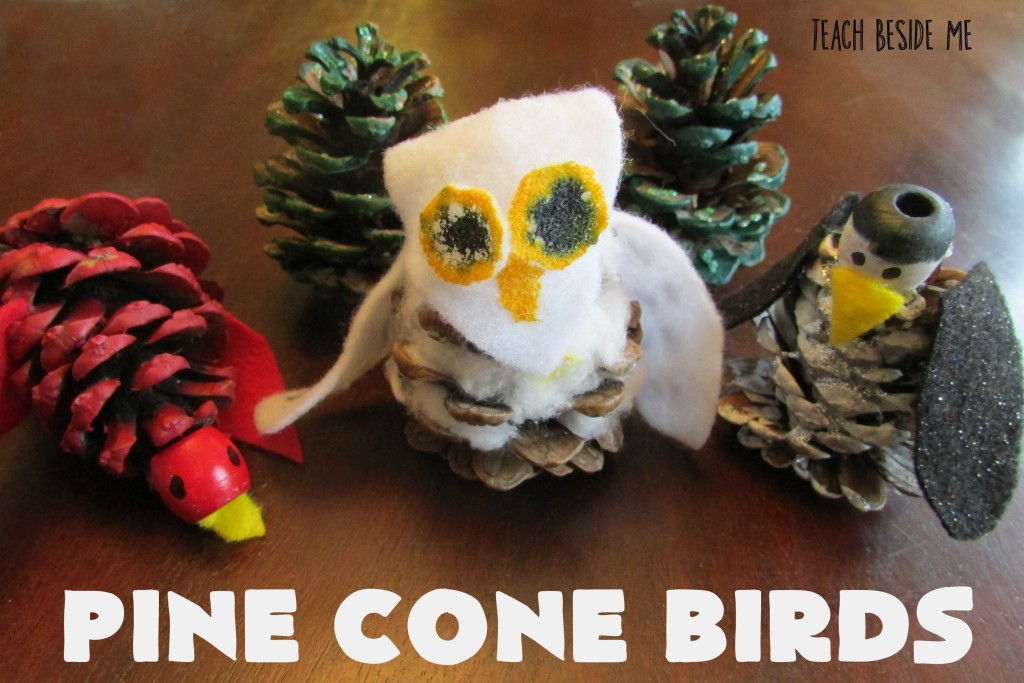 Pine Cone Birds