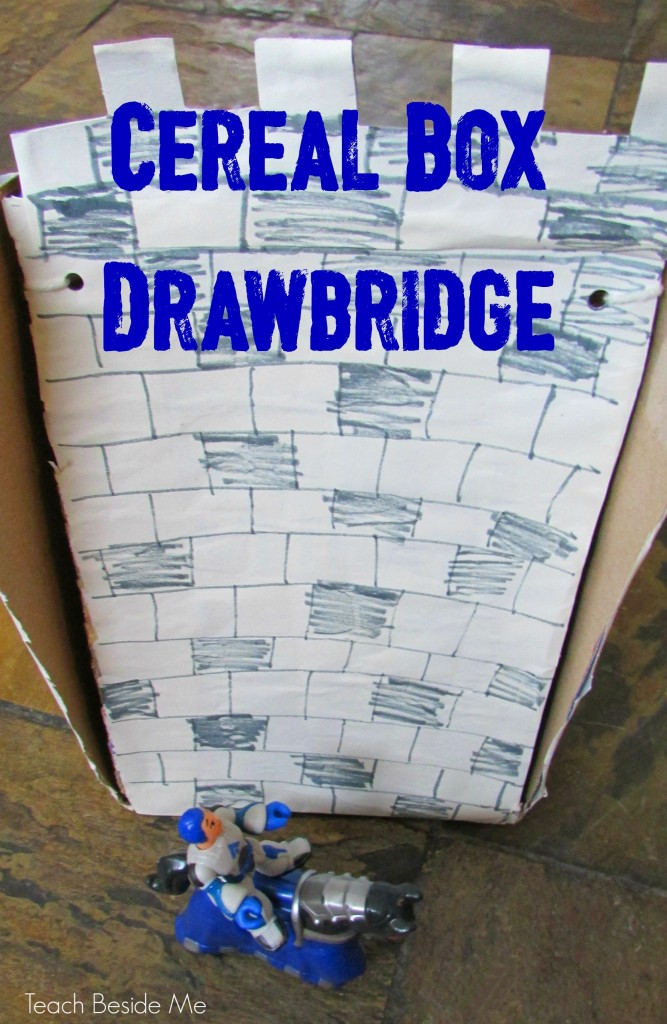 Cereal Box Drawbridge Toy