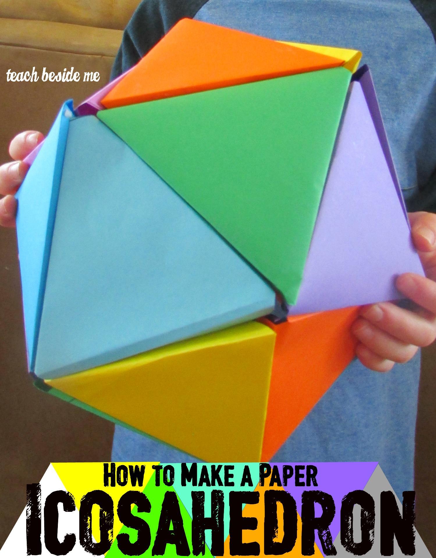 Rainbow Icosahedron Ball