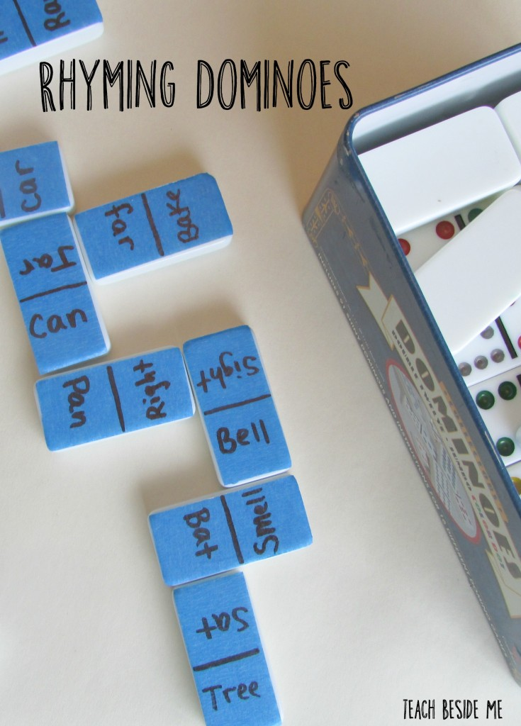 Rhyming Dominoes