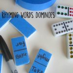 Rhyming Words Dominoes
