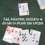 Target Number – Math Card Game
