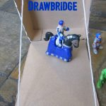 Cereal Box Drawbridge STEM
