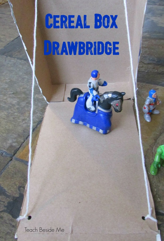 cereal box drawbridge