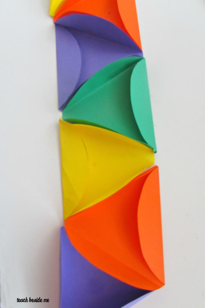 long strip for icosahedron