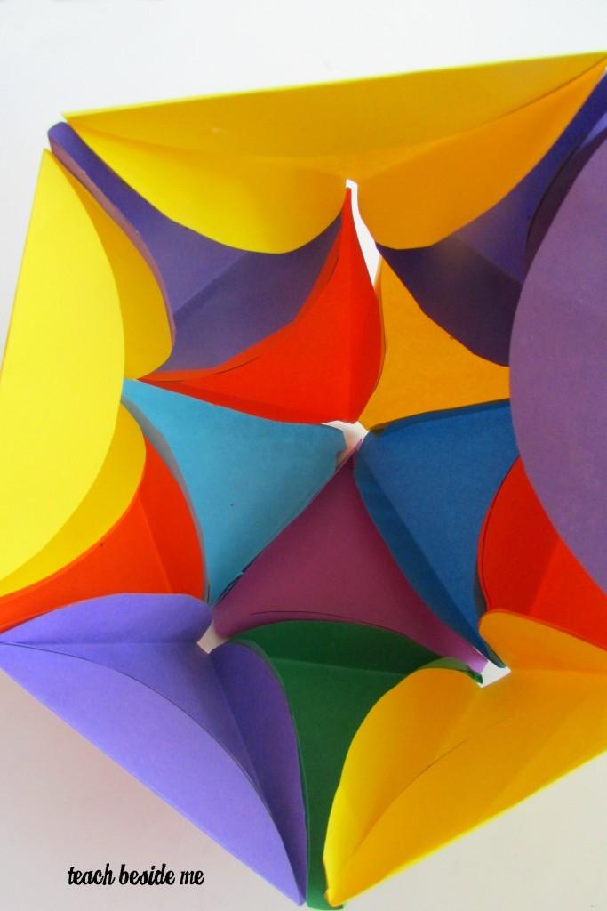rainbow icosahedron