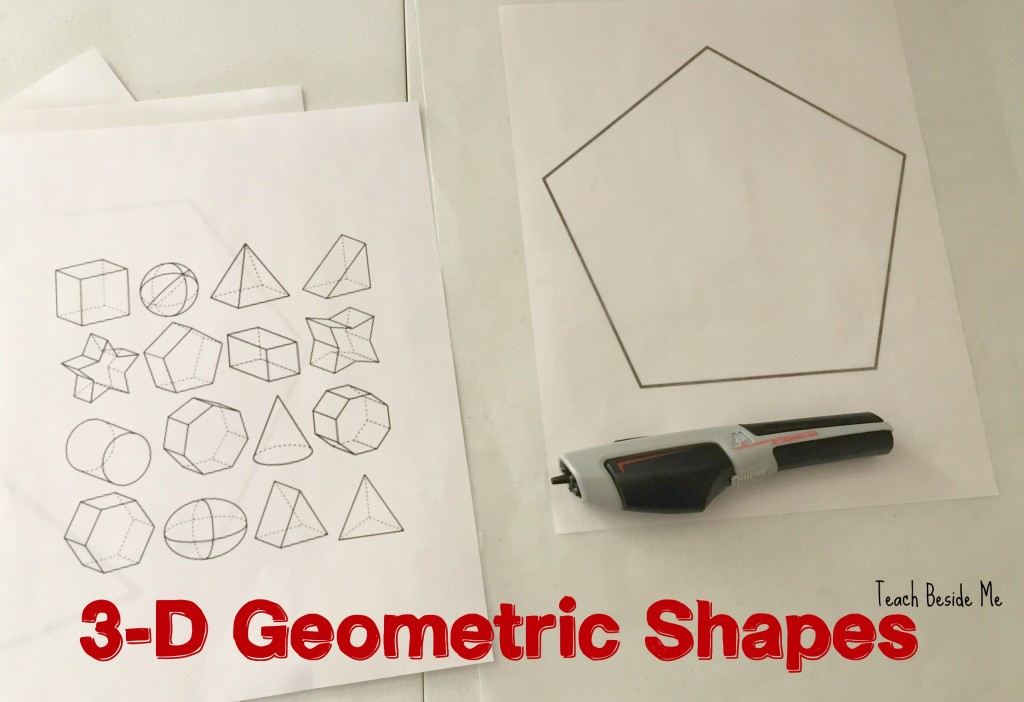 3-d geometric shapes