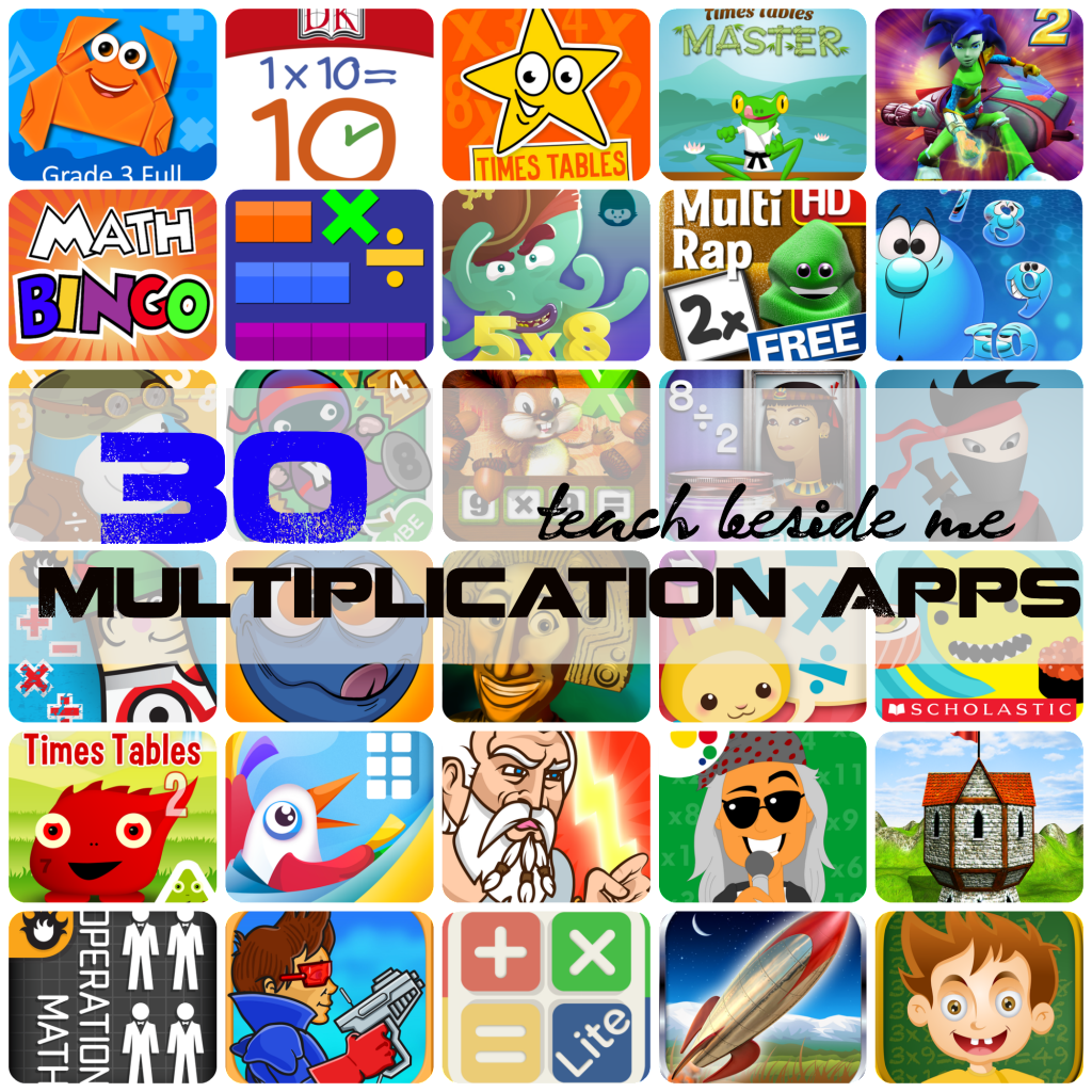 30 multiplication apps for kids
