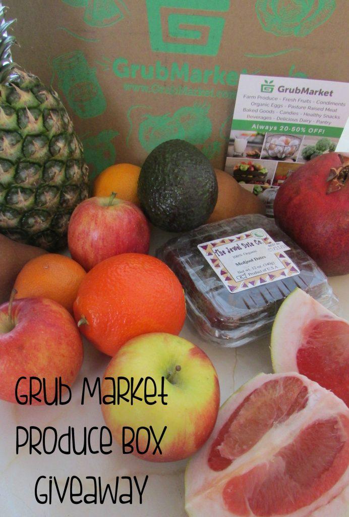 Grub Market Produce Box Giveaway & Dairy-Dree Hawaiian Haystacks