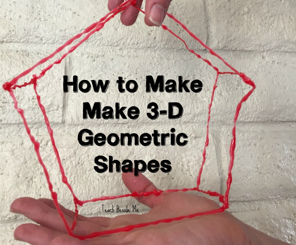 How to Make 3-D Geometric Shapes with a 3-D Pen