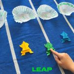 Leap Frog Math Game & Frog Origami