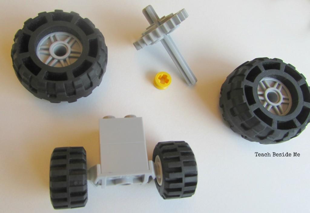 Lego solar car wheels