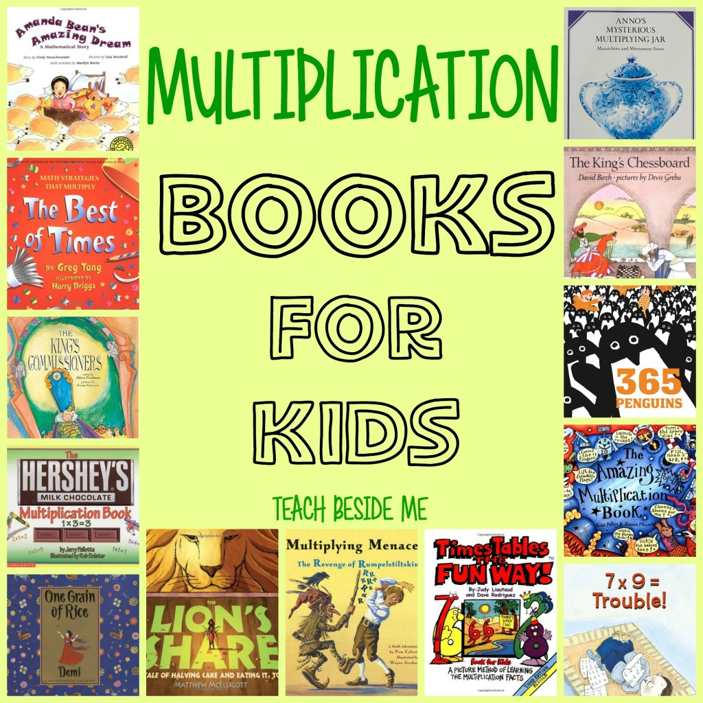 Multiplication Books for Kids