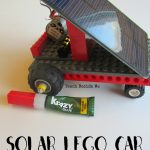 Solar Powered LEGO Car