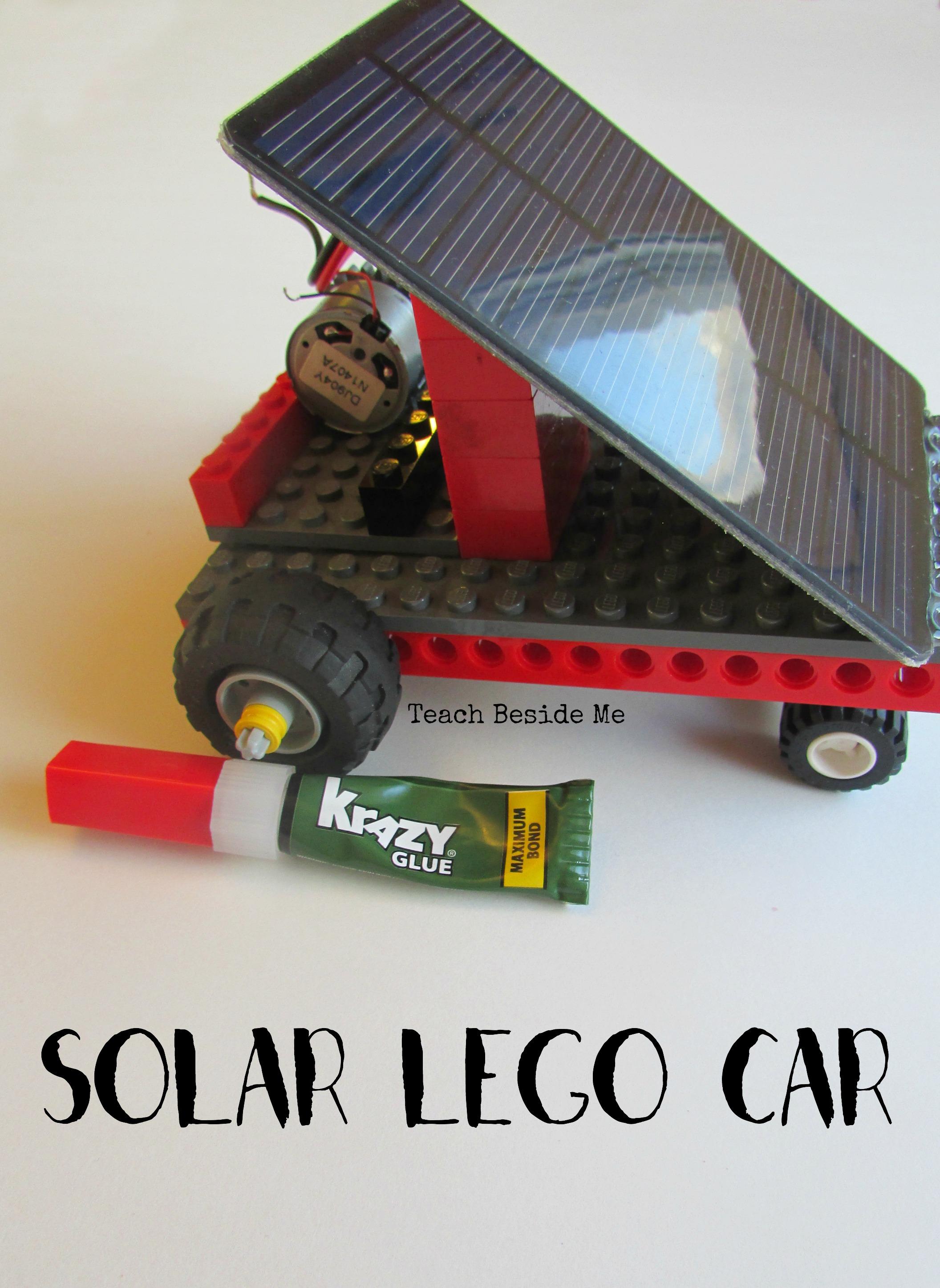 Solar Powered Lego Car Teach Beside Me