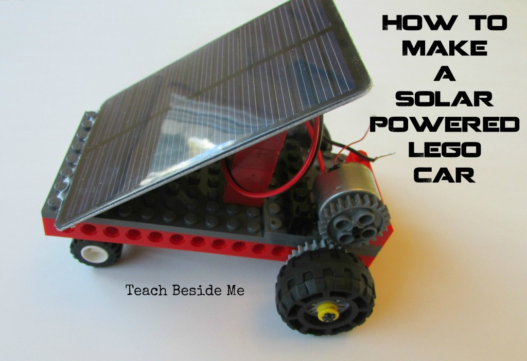 Solar Powered Lego Car Teach Beside Me