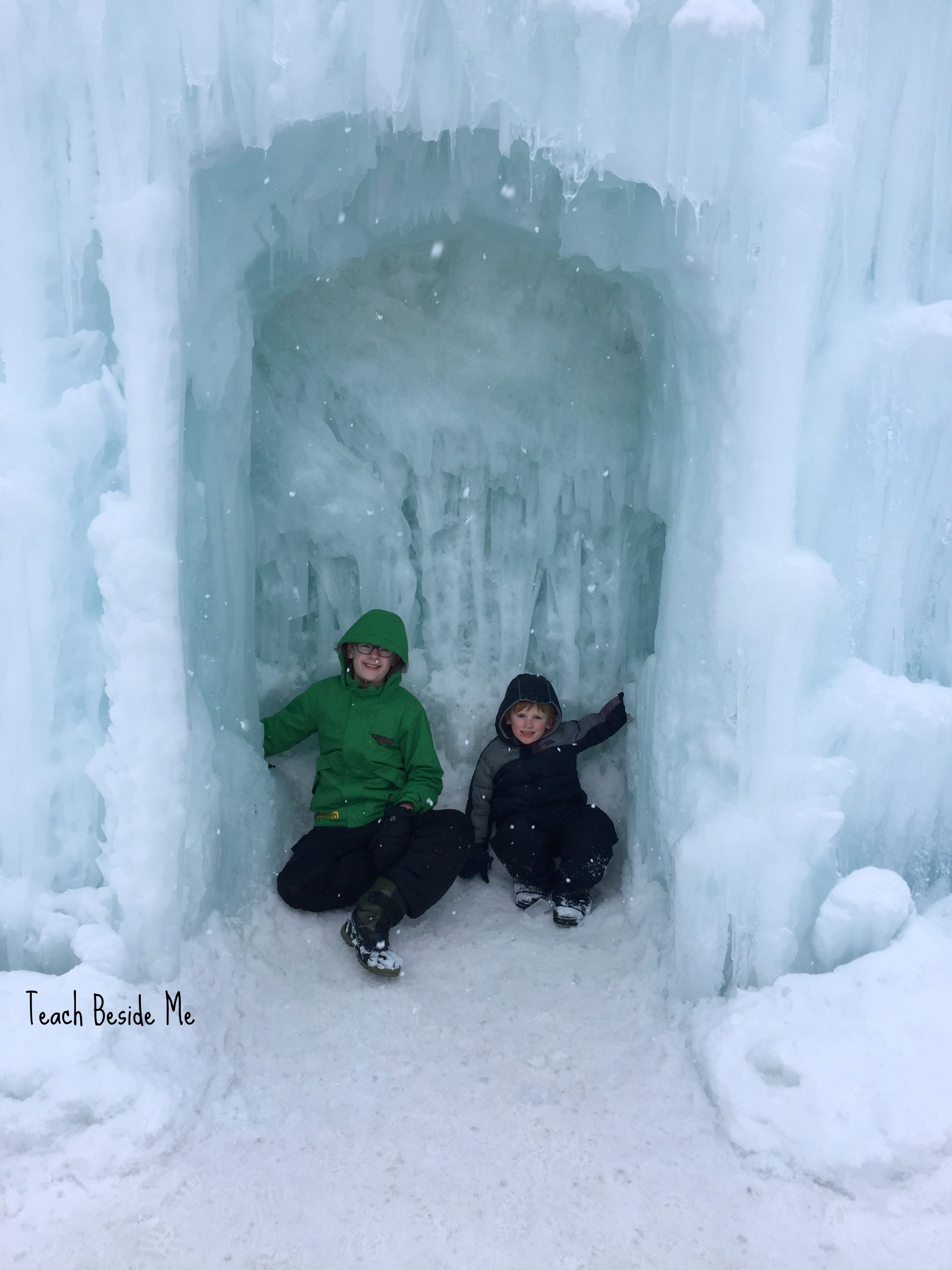 Winter Family Fun – Ice Castles