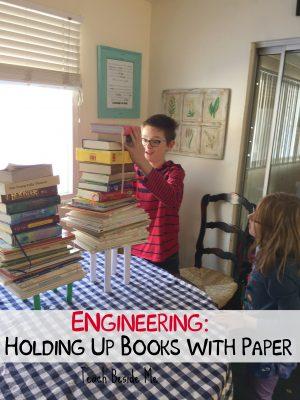 expériences sur papier - combien de livres contiendra-t-il