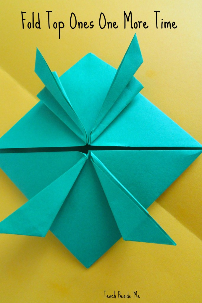 step 10- origami jumping frog