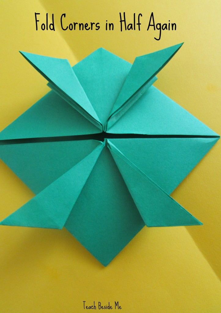 step 9- origami jumping frog