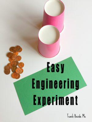 Expérience d'ingénierie simple