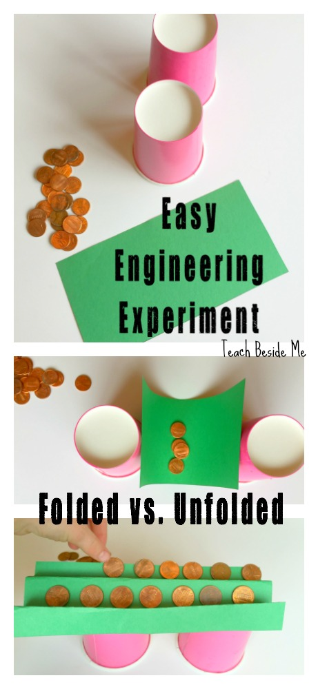 Easy Engineering Experiment with Paper