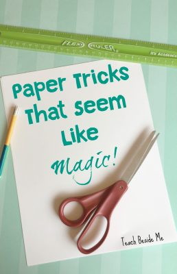 Paper Tricks that Seem Like Magic