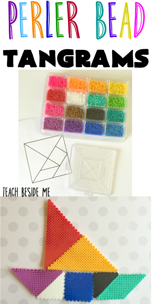 Peeler Bead Tangrams from Teach Beside Me