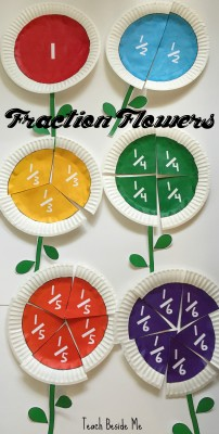 $ Fraction Flowers